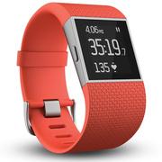 Fitbit Surge 智能乐活手环 GPS全球定位 心率实时检测 多项运动模式 智能手表 橘红色S