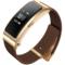 华为 手环B3   (蓝牙耳机与智能手环结合+金属机身+触控屏幕+真皮腕带) 商务版 摩卡棕产品图片1