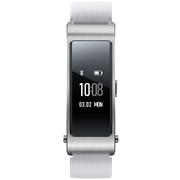 华为 手环B3  (蓝牙耳机与智能手环结合+金属机身+触控屏幕+TPU腕带) 运动版 悦动白