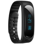 天诺思 E02 智能蓝牙手环运动手环计步器 健康监测 黑色