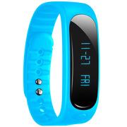 天诺思 E02 智能蓝牙手环运动手环计步器 健康监测 蓝色