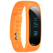 天诺思 E02 智能蓝牙手环运动手环计步器 健康监测 橙色