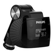 飞利浦 SA1608 飞声音效8G车载无损MP3播放器 点烟器式 断点记忆  安全USB快速车充 黑色