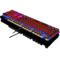 黑爵 机械战警 合金版幻彩机械游戏键盘 黑色青轴产品图片4