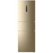 海尔 BCD-258WDVMU1 258升风冷无霜变频三门冰箱 干湿分储中门智慧变温(APP手机控制)香槟金