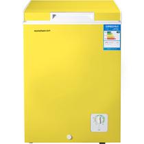 容声 BD/BC-100MS 100升 顶开门家用小冷柜 转换柜 亮黄色产品图片主图