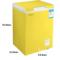容声 BD/BC-100MS 100升 顶开门家用小冷柜 转换柜 亮黄色产品图片2