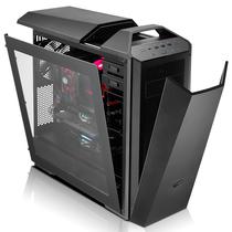 酷冷至尊 MasterCase Maker 5 模组化机箱(灯光控制器/3组智能风扇/红色灯条/磁吸式面板)黑色产品图片主图