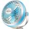 奥克斯 FO-18A7 电风扇/7寸USB风扇/台扇/夹扇/床头小风扇产品图片3