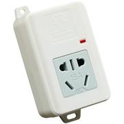 拳王 QW-A010WD 1孔位3米 大功率 不起火插座板 插座插排插线板接线板