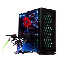 爱国者 月光宝盒X机箱黑色(三面钢化玻璃/配三个12CM可变色风扇/台系工艺/USB3.0/支持水冷)产品图片主图