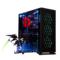 爱国者 月光宝盒X机箱黑色(三面钢化玻璃/配三个12CM可变色风扇/台系工艺/USB3.0/支持水冷)产品图片1