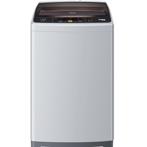 海尔 EB55M2JD 5.5公斤全自动洗衣机 特色冲浪洗 智能模糊控制(灰色)产品图片主图