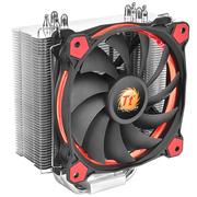 Thermaltake Silent 12 红色导光圈 CPU散热器(150W散热功耗/Riing红色风扇/温控PWM)
