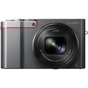 松下 Lumix DMC-ZS110GKS 便携4K长焦数码相机 银色