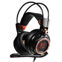 硕美科 G941 白鲨降噪版  主动降噪游戏耳机 电脑耳麦 头戴式  黑色产品图片主图
