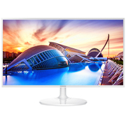 三星 S32F351FUC 32英寸HDMI全高清液晶显示器 白色款