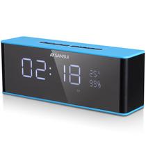 山水 T20 无线蓝牙音箱 插卡收音时钟闹钟产品图片主图