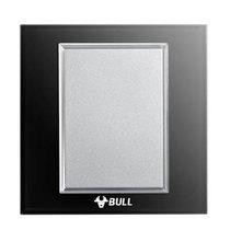 公牛 G22高晶玻璃开关 G22B101黑 产品图片主图