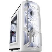 鑫谷 极光刃机箱 极光白(兼容M-ATX主板/侧透/USB3.0/防尘/背线)