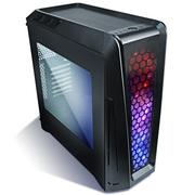 安钛克 GX1200 魅影 中塔机箱(侧透/七色可调光/支持240mm水冷/显卡/走背线)