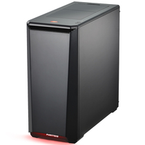 追风者 PK(H)416PSC 黑色ATX静音水冷中塔机箱 (全金属/RGB饰灯控\支持360水冷\带2风扇配调速器)产品图片主图