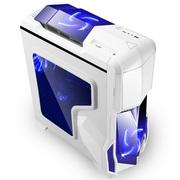 鑫谷 GANK奇袭白色标准机箱(支持分体水冷/兼容双路服务器主板/独立电源仓ATX2.0架构)