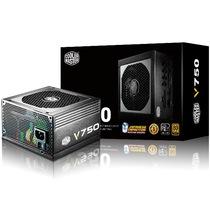 酷冷至尊 V750额定750W电源(80PLUS认证/全模组/静音/主动式PFC/支持背线/质保5年)产品图片主图