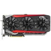 华硕 猛禽STRIX-GTX980TI-DC3OC-6GD5-GAMING 1317MHz/5010MHz 2GB/128bit DDR5 PCI-E 3.0 显卡