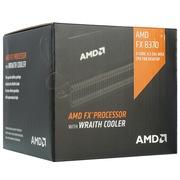 AMD FX系列 FX-8370 八核 AM3+接口 盒装CPU处理器