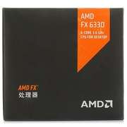 AMD FX系列六核 FX-6330 盒装CPU(Socket AM3+/3.6GHz/14M缓存/95W)