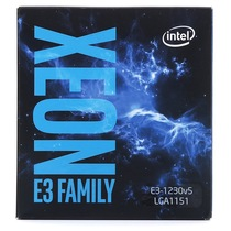 英特尔 至强处理器E3-1230V5 盒装CPU (LGA1151/3.40GHz/8M/80W/14nm)产品图片主图