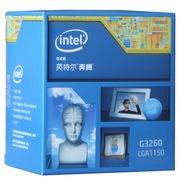 英特尔 奔腾 G3260 Haswell架构盒装CPU处理器(LGA1150/3.3GHz/3M三级缓存/53W/22纳米)