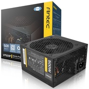 安钛克 额定500W VP500P 电源(主动式PFC/12CM静音风扇)