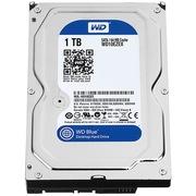 西部数据 蓝盘 1TB SATA6Gb/s 7200转64M 台式机硬盘(10EZEX)