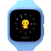 360 儿童手表 巴迪龙儿童手表5 W563 儿童卫士 智能彩屏电话手表 静谧蓝