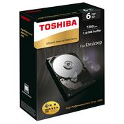 东芝 X300系列 6TB 7200转128M SATA3 台式机硬盘(HDWE160AZSTAU)