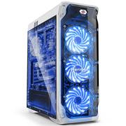 鑫谷 LUX全侧透机箱(通透面板+侧板/ATX大板位/240冷排位/380mm显卡位/usb3.0/背线)