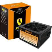 超频三 额定300W 黑马300电源(宽幅设计/峰值400W/12CM风扇/支持背线)