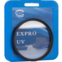 C&C EXPRO UV 67mm 超薄UV滤镜 适用佳能18-135,17-85,100/2.8,尼康18-105等镜头产品图片主图