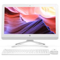 惠普 20-c030cn 19.5英寸一体机(i3-6100U 4G DDR4 7200转1T FHD WiFi Win10)白色产品图片主图