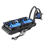 爱国者 冰塔T240水冷散热器(CPU散热器/长寿命陶瓷轴承/蓝光LED风扇/全平台支持/硅脂)