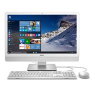 戴尔 Inspiron 3452-R3248W 23.8英寸一体机电脑 (赛扬N3150 4G 500G DVD WIFI 蓝牙 Win10)白