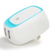 REMAX 睿量/ 手机充电器 双U智能电源适配器 3USB充电头/适用于手机平板移动电源(蓝色)