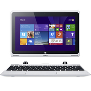宏碁 SW5-015-18PF 10.1英寸四核触控平板笔记本康宁玻璃外壳 白色 64G固态硬盘 500G机械硬盘 标配版
