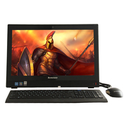 联想 扬天S4150 21.5英寸一体电脑 (i3-6100T 8G 1T 集显 Wifi DVD刻 win7-64位)黑色