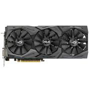 华硕 ROG-STRIX-GTX1080-8G-GAMING 1607-1733MHz/10 Gbps 8G/GDDR5X PCI-E 3.0显卡