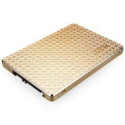 忆捷 S606 2.5英寸SATA3 SSD固态硬盘120G笔记本台式机均可用全金属金色
