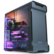 追风者 515ETG双侧透电脑游戏机箱(3毫米铝材/4毫米钢化玻璃/RGB灯控/背线防尘静音)黑色
