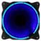 乔思伯 Eclipse日食-炫光蓝 散热风扇(12CM/LED发光风扇/PWM温控/静音/主板4PIN接口)产品图片1